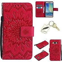 Silicona sof tshell PU Carcasa para Samsung Galaxy A5(2015) A500(5pulgadas) funda case cover Funda Strass–PRS Bumper Carcasa Silicone Case & # xff08; + Exquisite Key Chain X1) # KC