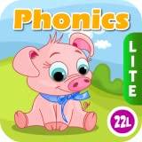 Phonics: Fun on Farm - Reading, Spelling and Tracing Educational Program  Kids Learning Games Teaching Letter Sounds, Sight Words, ABC Flash Cards Quiz & Alphabet for Preschool, Toddler, Kindergarten and 1st Grade Explorers by Abby Monkey