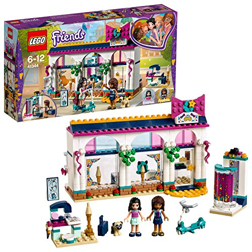LEGO Friends Andreas Accessoire-Laden 41344 Kinderspielzeug