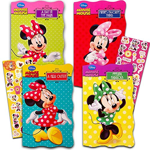Minnie 4 Fun Shaped Board Books: A New Outfit/A Day in the Park/Minnie's Favorite Things/Feeling Fabulous