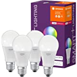 LEDVANCE LED lamp   Lampvoet: E27   RGBW   2700…6500 K   9 W   SMART+ Classic Multicolour [Energie-efficiëntieklasse A+]   4