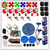 GKA2Z 200-in1 Speed DC Motor Resistors KIt With Pulley Wheel Screw And Many More