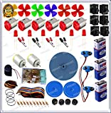 #6: GKA2Z 200-in1 Speed DC Motor Resistors kIt with Pulley Wheel Screw and Many More
