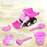 MEI Strandspielzeug Kinder Strand Spielzeug Kinder Sommer Spiel Sand Bagger Spiel Haus Strand Spielzeug