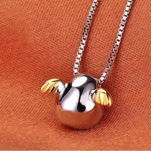 TLLAMG Halskette Mode Großhandel Kreative Exquisite 925 Sterling Silber Schmuck Engel Ei Weibliche Anhänger Halskette