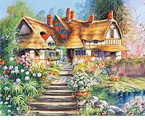 WACYDSD Puzzle 1000 Teile Gartenhaus DIY Moderne Wandkunst Einzigartiges Geschenk Home Decor