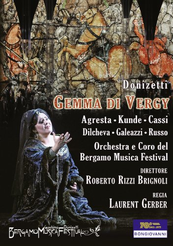 Donizetti: Gemma di Vergy (Live, Teatro Donizetti Bergamo, Sep 2011) [NTSC all regions] [UK Import]