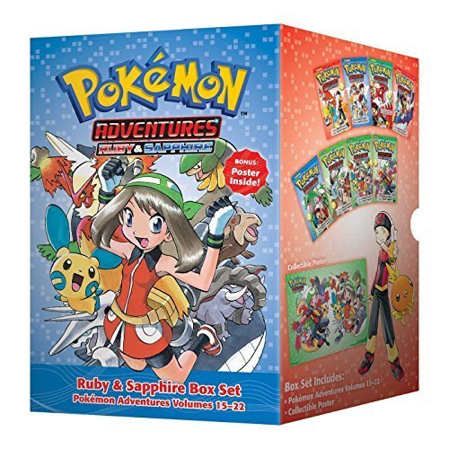 Pok¨¦mon Adventures Ruby & Sapphire Box Set: Includes Volumes 15-22 (Pokemon) by Kusaka, Hidenori (2014) Paperback