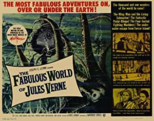 The Fabulous World of Jules Verne- Poster / Affiche film – 69*102cm