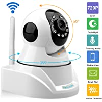 Sricam SP010 Wireless HD IP Wifi CCTV indoor Security Camera with SD card Slot