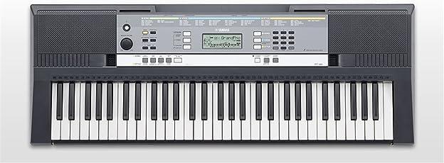 Yamaha YPT-240 61keys Black digital piano - Digital Pianos (8 W, 945 mm, 347 mm, 117 mm, 4 kg, LCD)