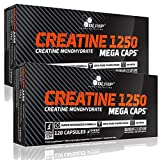Olimp Creatine Mega Caps 2 x 120 Capsules by OLIMP
