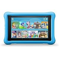 FireHD8 KidsEdition-Tablet, 8-Zoll-HD-Display, 32GB, blaue kindgerechte Hülle