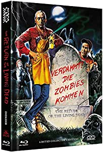 The Return of the living Dead - uncut [Blu-Ray+DVD] auf 555 limitiertes Mediabook Cover B [Limited Collector's Edition] [Limited Edition]