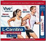 Vive+ L- Carnitina Liquida - 3 Paquetes de 12 Unidades