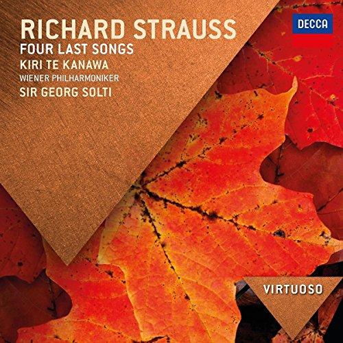 Strauss: Vier Letzte Lieder (Virtuoso)