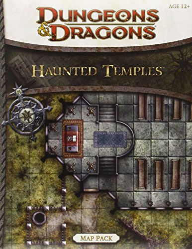 Haunted Temples Map Pack: A 4th Edition Dungeons & Dragons Accessory (4th Edition D&D)