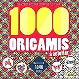 1000 origamis à colorier : Des modèles à colorier et tous les plis de base