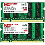 Komputerbay - Memoria SODIMM para portátil 8GB (2 x 4GB), PC2-6400, DDR2-800