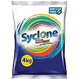 Syclone Total Wash Detergent Powder With Germ Clean Power - 4Kg
