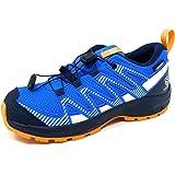 Salomon XA Pro V8 CSWP Unisex Niños Zapatillas Impermeables Trail Running Senderismo