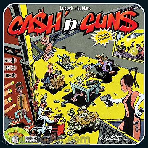 Heidelberger Spieleverlag HEI00057 - Cash und Guns