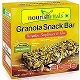 #4: Nourish Vitals Granola Snack Bar - Pumpkin, Sunflower & Flax Mix (5 Bars) - 250g