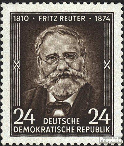 ddr-430-completaproblema-bedarfsstempel-1954-80morte-di-reuter-francobolli-