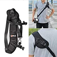 NEOHOOK Focus F-1 Camera Strap Quick Release Rapid Shoulder Sling Neck Strap Belt for Canon Nikon Sony Pentax Olympus…