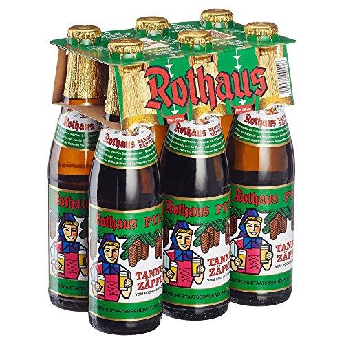 Rothaus Tannenzäpfle Pils Mehrweg, (6 x 0.33 l) (Pilsner Bier)