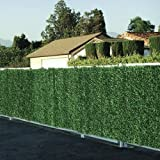 True Products Evergreen 1 x 3 m Artificial Conifer Hedge Plastic Privacy Screening Garden Fence - Green