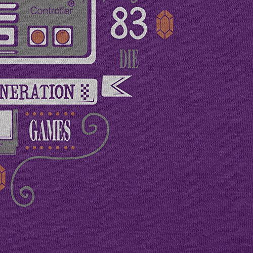 TEXLAB - The Classic Gamer - Herren T-Shirt Violett