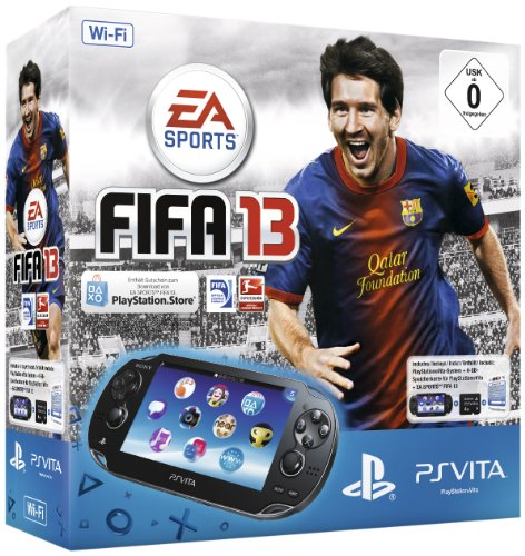 Sony PlayStation Vita (WiFi) inkl. Fifa 13 (Download Voucher) + 4 GB Memory Card