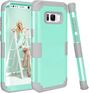 Caler Kompatibel Mit Ersatz Für Samsung Galaxy S8 Plus Hülle Outdoor Case Handyhülle Schlagfest Schutzhülle Cover