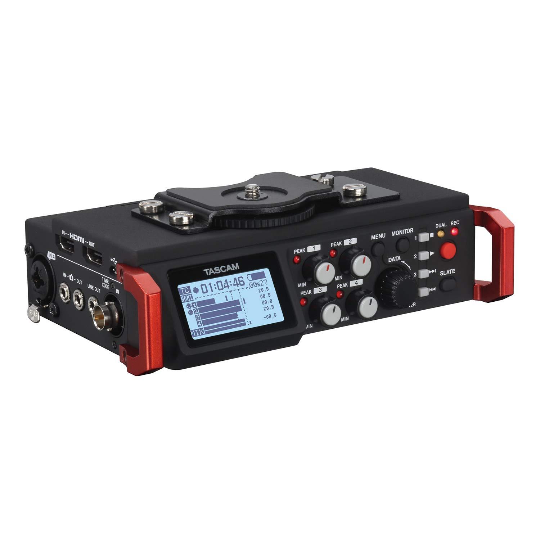Tascam DR-701D – Enregistreur audio à six canaux pour appareils DSLR