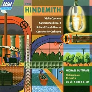 Hindemith: Violin Concerto