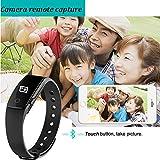 Fitness Tracker Smart Armband mit Pulsmesser, YAMAY® Bluetooth Smart Armbanduhr Sport Schrittzähler Aktivitätstracker mit Herzfrequenzmonitor / Schrittzähler / Kalorienzähler / Schlaf-Monitor, kompatibel mit iPhone IOS und Android-Handy - 7