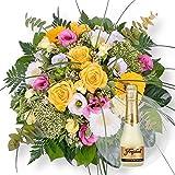 Blumenstrauß Florence und Freixenet Semi Seco