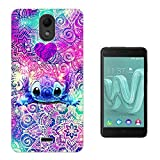 003543 - Cute Monster Mandala Ohana Design Wiko Harry Fashion Trend Protecteur Coque Gel Silicone protection Case Coque