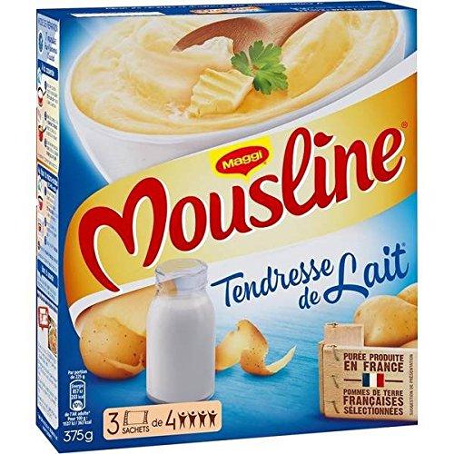 Maggi mousline tendresse de lait 3x125g 375g - ( Prix Unitaire ) - Envoi Rapide Et Soignée