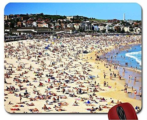 famous bondi beach in sydney australia mouse pad computer mousepad