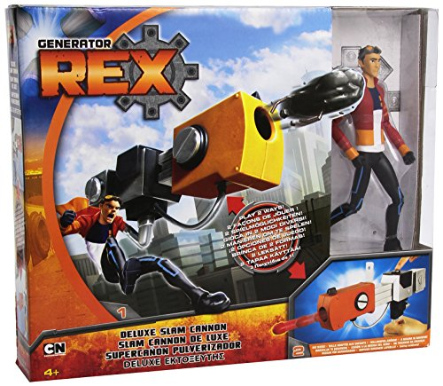 Cartoon Network Generator Rex Deluxe Figure with Accessory - Cannon