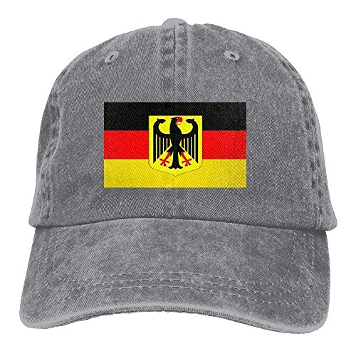 ewtretr Deutschland Germany Denim Baseball Cap Strap Low Profile Plain Hats Outdoor Casquette Snapback Hats Black Adjustable Unisex Suitable for All Seasons Omega Baseball