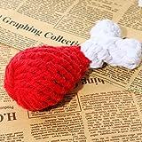 Da.Wa Mini Zahnbürste Form Hund Kaut Hundespielzeug Sprachspielzeug,Gummi,Zufall Farbe - 4