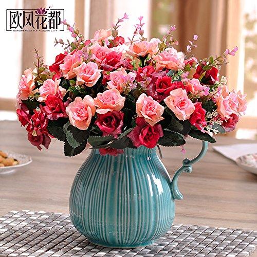 Beata.T Continental emulazione alto fiore fiori artificiali rose fiori di