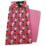 Juego sabanas Prodigiosa Ladybug cama 90,1unidades por pedido