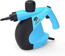 MLMLANT dampfreiniger Mehrzweck 350ml Handdruckdampfreiniger mit 11-teiligem Zubehör für Fleckenentfernung, Teppiche, Vorhänge, Bettwanzensteuerung, Autositze