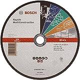 Bosch 2608602767 Disque à tronçonner à moyeu plat rapido multi construction ACS 46 V BF 230 mm 1,9 mm