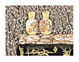 Unterzeichnet P.S. Gordon Satsuma Vasen Feuervogel Suite