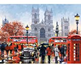 alles-meine.de GmbH Puzzle 3000 Teile -  London - Westminster Abbey / England  - Zeichnung / Gem..
